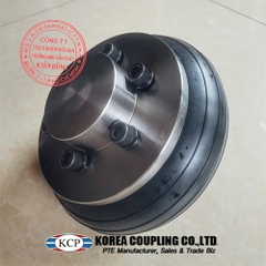 Khớp nối bánh xe cao su KCP Tire Coupling KCS-P Complete 1