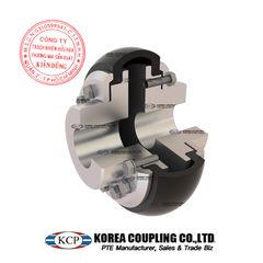 Khớp nối bánh xe cao su KCP Tire Coupling KRB