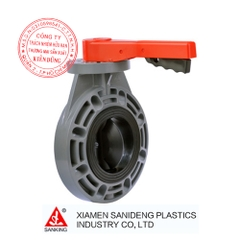 Xiamen Sanking Handle Level Butterfly Valve