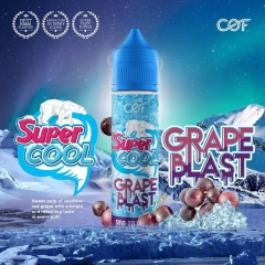 Juice malay 60ml Super Cool GRAPE The mát lạnh-3NI