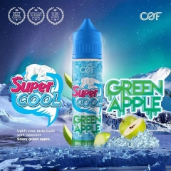 Juice malay 60ml Super Cool GREEN APPLE The mát lạnh-3NI