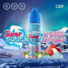Juice malay 60ml Super Cool LYCHEE LONGAN The mát lạnh-3NI