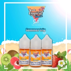 30ml salt Tropical House Summer Trip vị dâu kiwi vải