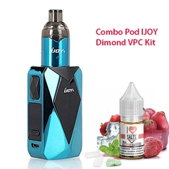 Combo Pod Ijoy Diamond VPC kit kèm dầu salt nic 10ml