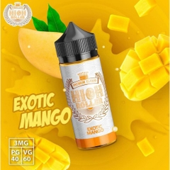 100ml malay High Roller Exotic Mango - xoài chín