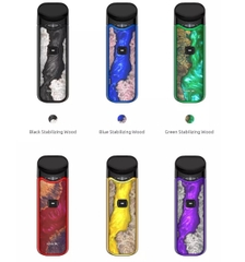 POD SYSTEM SMOK NORD KIT STABWOOD KÈM 10ML SALT