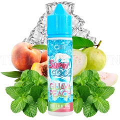 Juice malay 60ml Super Cool GUAVA PEACH The mát lạnh-3NI