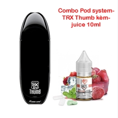 Combo Pod system TRX THUMP kèm juice 10ml