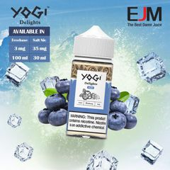 100ML Mỹ YOGI BLUEBERRY