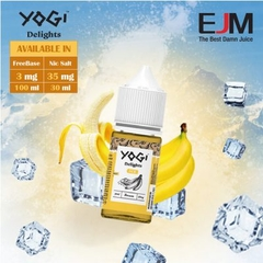 30ml Salt nic mỹ YOGI Banana