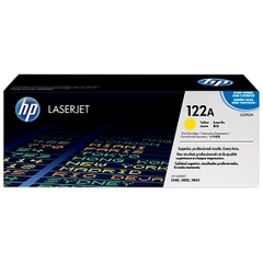 HP 122A Yellow Original LaserJet Toner Cartridge (Q3962A)