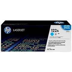 HP 122A Cyan Original LaserJet Toner Cartridge (Q3961A)