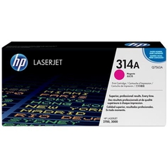 HP 314A Magenta Original LaserJet Toner Cartridge (Q7563A)