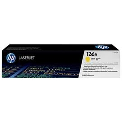 HP 126A Yellow LaserJet Toner Cartridge CE3112A