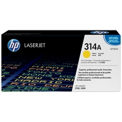 HP 314A Yellow Original LaserJet Toner Cartridge (Q7562A)