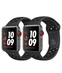 Apple Watch Series 3 Nike+ Space Gray Aluminum Case with Anthracite/Black Nike Sport Band (GPS+CELLULAR)