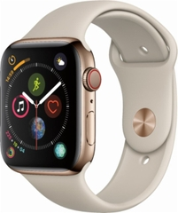 Apple Watch  4 LTE 40mm, Stainless Steel - Sport Band