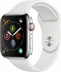Apple Watch 4  LTE  44mm Stainless Steel Sport Band