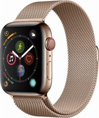 Apple Watch 4 LTE 44mm  Stainless Steel Milanese Loop
