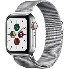Watch5 40 Silver Stainless Steel Milanese Loop
