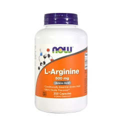 NOW L-Arginine 1000mg, 120 Tablets