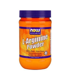 NOW L-Arginine Powder, 1Lb (100 Servings)