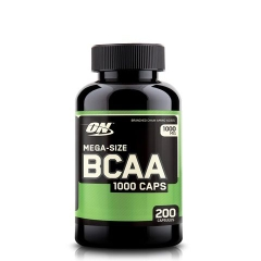ON BCAA 1000 Caps, 200 Capsules