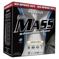 Dymatize Elite Mass Gainer, 10Lbs (4540g)