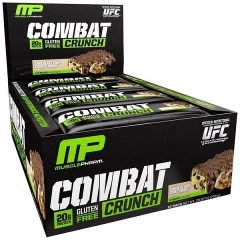 MusclePharm Combat Crunch, 12 Bars