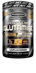 MuscleTech Platinum 100% Glutamine, 300g Unflavored