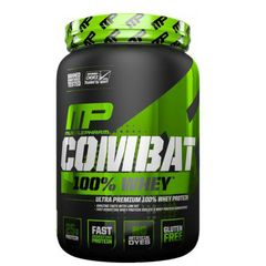 MusclePharm Combat 100% Whey, 5Lbs (2269g)