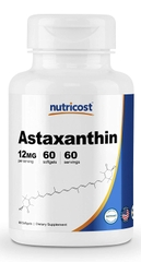 Nutricost Astaxanthin 12mg, 60 Softgels