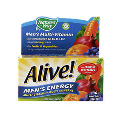 Alive Men's Energy, 50 Tablets