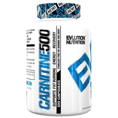 EVLUTION NUTRITION L-Carnitine 500, 120 Capsules