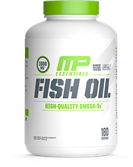 MusclePharm Fish Oil, 180 Softgels
