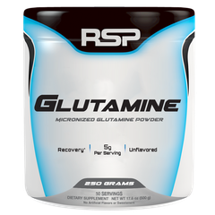 RSP Nutrition Glutamine, 250 Grams