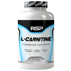 RSP Nutrition L-Carnitine, 120 Capsules