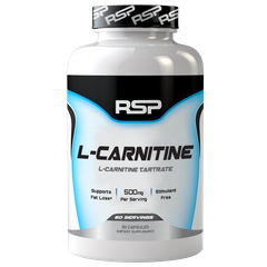 RSP Nutrition L-Carnitine, 60 Capsules