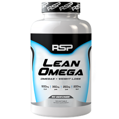 RSP Nutrition LeanOmega, 120 Softgels
