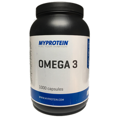 MyProtein Omega 3, 1000 Capsules