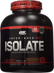 ON Performance Whey Isolate, 4.19 Lbs
