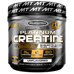 MuscleTech Platinum 100% Creatine, 400g