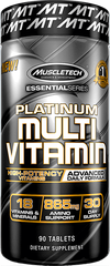 MuscleTech Platinum Multivitamin, 90 Caplets