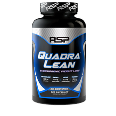 RSP Nutrition QuadraLean Thermogenic, 180 Capsules