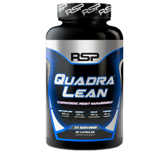 RSP Nutrition QuadraLean Thermogenic, 90 Capsules
