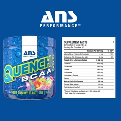 ANS PERFORMANCE Quench BCAA, 30 Servings