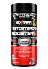 Six Star Pro Nutrition Testosterone Booster , 60 Caplets