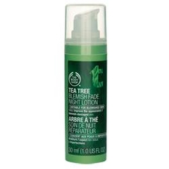 The Body Shop Tea Tree Blemish Fade Night Lotion 30ml