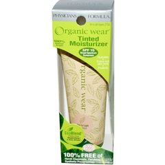 Organic Wear Tinted Moisturizer SPF15 44ml