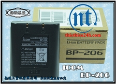 Pin Icom BP-206 (3.7V/1650mAh, Li-Ion)